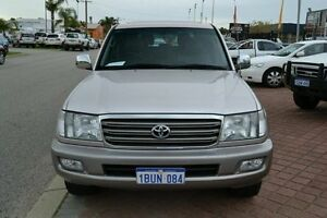 2004 Toyota Landcruiser 100 Series Sahara V8 Petrol Silver 5 Speed Automatic Wagon