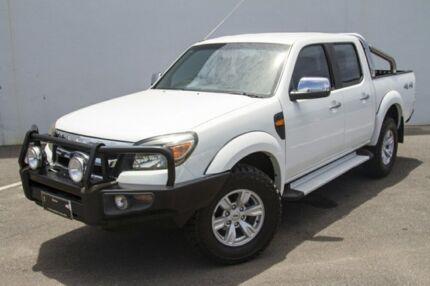 2011 Ford Ranger PK XLT (4x4) White 5 Speed Manual