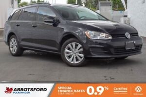 2017 Volkswagen Golf SportWagen Trendline LOCAL, ONE OWNER, GREA