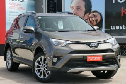 2016 Toyota RAV4 ASA44R Cruiser AWD Liquid Bronze 6 Speed Sports Automatic Wagon