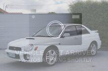2001 Subaru Impreza S MY01 WRX AWD White 5 Speed Manual Sedan South Launceston Launceston Area Preview