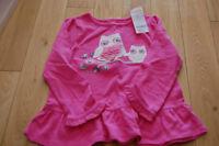 Gymboree Girls Size 4T Owl Shirt