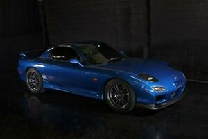 1999 Mazda RX7 FD3S SERIES 8 Twin Turbo Blue 5 Speed Manual Coupe Daisy Hill Logan Area Preview