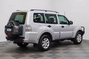 2012 Mitsubishi Pajero NW MY13 GLX Silver 5 Speed Sports Automatic Wagon Edgewater Joondalup Area Preview