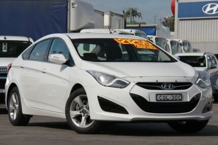 2013 Hyundai i40 VF 2 Active White 6 Speed Automatic Sedan Arncliffe Rockdale Area Preview