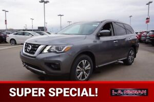 2018 Nissan Pathfinder S V6 7 PASSENGER, 3.5L V6, BACK UP CAMERA