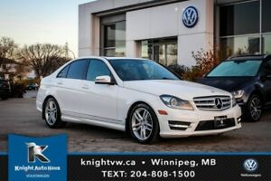 2013 Mercedes-Benz C-Class C 300 AWD w/ Leather/Sunroof