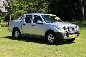 2008 Nissan Navara D40 ST-X (4x4) Silver 5 Speed Automatic Dual Cab Pick-up Port Macquarie Port Macquarie City Preview