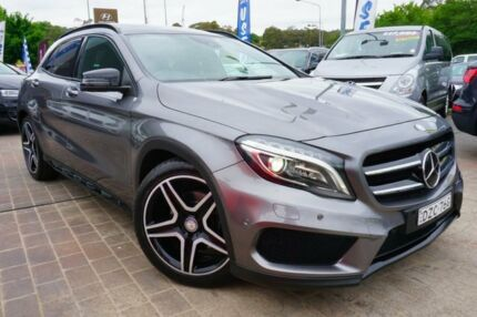 2014 Mercedes-Benz GLA 250 4MATIC X156 DCT 4MATIC Grey 7 Speed Sports Automatic Dual Clutch Wagon Pearce Woden Valley Preview