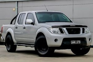 2013 Nissan Navara D40 S8 RX Silver 5 Speed Automatic Utility Morwell Latrobe Valley Preview
