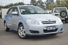 2006 Toyota Corolla ZZE122R 5Y Ascent Blue 5 Speed Manual Hatchback Nailsworth Prospect Area Preview