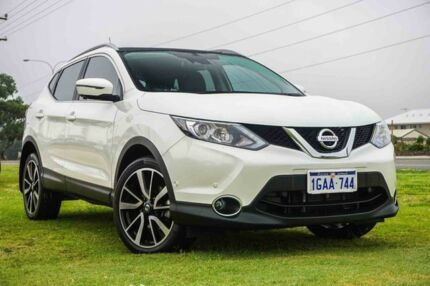 2016 Nissan Qashqai J11 TL Ivory Pearl 1 Speed Constant Variable Wagon