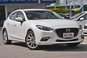 2016 Mazda 3 BM5438 SP25 SKYACTIV-Drive GT White 6 Speed Sports Automatic Hatchback Burpengary Caboolture Area Preview