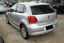 2013 Volkswagen Polo 6R MY14 Trendline DSG Silver 7 Speed Sports Automatic Dual Clutch Hatchback Buderim Maroochydore Area Preview
