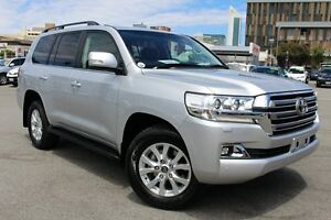 2016 Toyota Landcruiser VDJ200R VX Silver Pearl 6 Speed Sports Automatic Wagon Northbridge Perth City Area Preview