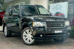 2011 Land Rover Range Rover Vogue L322 11MY Black 6 Speed Sports Automatic Wagon