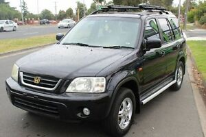 2001 Honda CR-V Sport 4WD Black 4 Speed Automatic Wagon West Footscray Maribyrnong Area Preview