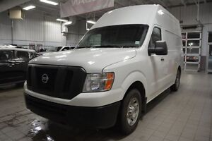 2012 Nissan NV 2500 S HIGH ROOF Accident Free,  A/C,