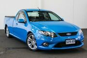 2011 Ford Falcon FG Upgrade XR6T Blue 6 Speed Auto Seq Sportshift Utility Rockingham Rockingham Area Preview