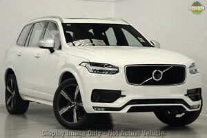 2016 Volvo XC90 256 MY17 T6 R-Design Ice White 8 Speed 8 SP Automatic Geartronic Wagon Mosman Mosman Area Preview