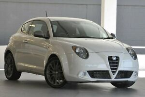 2010 Alfa Romeo Mito MY10 QV White 6 Speed Manual Hatchback Artarmon Willoughby Area Preview