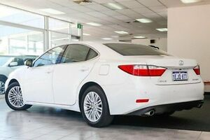 2013 Lexus ES350 GSV60R Sports Luxury White 6 Speed Sports Automatic Sedan Victoria Park Victoria Park Area Preview