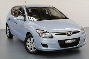 2011 Hyundai i30 FD MY11 SX Clean Blue 4 Speed Automatic Hatchback Cardiff Lake Macquarie Area Preview