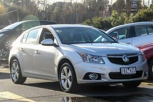 2014 Holden Cruze JH Series II MY14 Equipe Silver 5 Speed Manual Hatchback Ringwood East Maroondah Area Preview