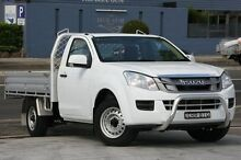 2013 Isuzu D-MAX TF MY12 SX (4x2) White 5 Speed Manual Cab Chassis Waitara Hornsby Area Preview