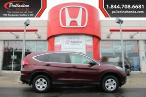 2015 Honda CR-V LX - COMFORTABLE AFFORDABLE -