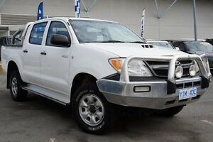 2006 Toyota Hilux KUN26R MY07 SR White 5 Speed Manual Utility Pearce Woden Valley Preview