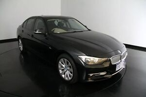 2012 BMW 320i F30 Black 8 Speed Sports Automatic Sedan Victoria Park Victoria Park Area Preview