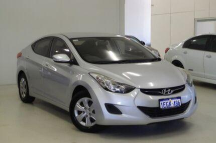 2013 Hyundai Elantra MD2 Active Silver 6 Speed Manual Sedan Myaree Melville Area Preview