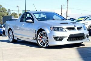 2012 Holden Special Vehicles Maloo E Series 3 MY12.5 Silver 6 Speed Manual Utility Liverpool Liverpool Area Preview