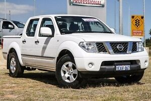 2012 Nissan Navara D40 S7 MY12 RX 4x2 White 5 Speed Automatic Utility Bibra Lake Cockburn Area Preview