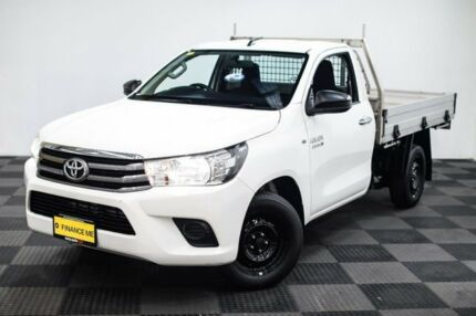 2015 Toyota Hilux GUN123R SR White 5 Speed Manual Cab Chassis | Cars ...