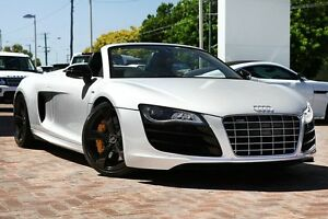 2011 Audi R8 MY11 Spyder Quattro Silver 6 Speed Sports Automatic Single Clutch Convertible Osborne Park Stirling Area Preview