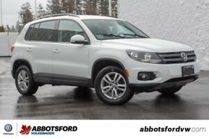 2015 Volkswagen Tiguan Trendline ONE OWNER, NO ACCIDENTS, LOCAL