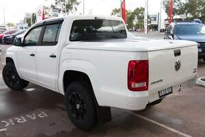 2013 Volkswagen Amarok 2H MY13 TDI400 4Mot Candy White 6 Speed Manual Utility Wilson Canning Area Preview