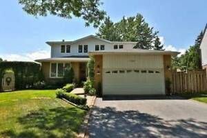 Single Detached 4 bedroom with swimming Pool in Oakville -$2800