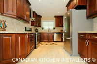 PRE-ASSEMBELED SOLID WOOD KITCHEN CABINETS