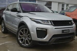 2016 Land Rover Range Rover Evoque L538 MY16.5 TD4 180 HSE Dynamic Indus Silver 9 Speed Pearce Woden Valley Preview