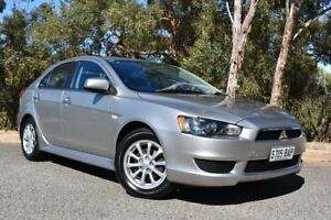 2013 Mitsubishi Lancer CJ MY13 LX Sportback Silver 6 Speed Constant Variable Hatchback St Marys Mitcham Area Preview