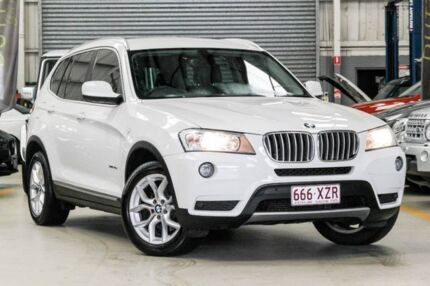 2011 BMW X3 F25 MY1011 xDrive30d Steptronic White 8 Speed Automatic Wagon Albion Brisbane North East Preview