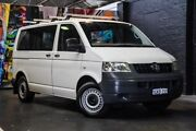 2009 Volkswagen Transporter T5 MY09 Low Roof White 6 Speed Sports Automatic Van Perth Perth City Area Preview