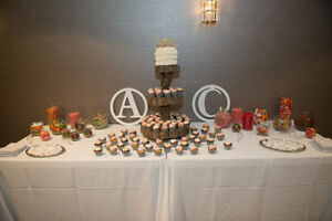 Rustic Wedding Decor- Wood Cake Stand