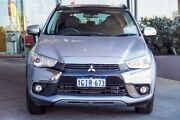 2017 Mitsubishi ASX XC MY17 XLS Silver 6 Speed Sports Automatic Wagon Myaree Melville Area Preview