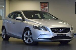 2013 Volvo V40 M Series MY14 D4 Adap Geartronic Luxury Silver 6 Speed Sports Automatic Hatchback Chatswood Willoughby Area Preview