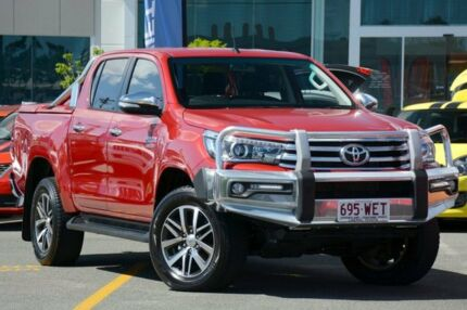 2015 Toyota Hilux GUN126R SR5 Double Cab Red 6 Speed Sports Automatic Utility