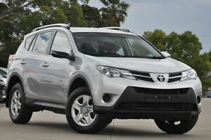 2015 Toyota RAV4 ZSA42R MY14 Upgrade GX (2WD) Silver Continuous Variable Wagon Greenacre Bankstown Area Preview